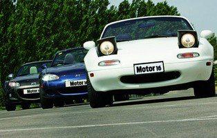 Mazda MX-5. Tres jubilados con ganas de marcha