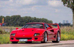 Ferrari F40. Subastado el ejemplar de Nigel Mansell