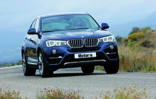 BMW X4 30d xDrive. Coupé, desde otra perspectiva