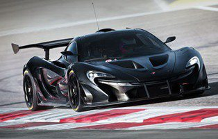 McLaren P1 GTR. Una máquina de carreras
