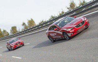 Mazda6 2.2 Skyactiv-D. Pulveriza 20 récord de velocidad