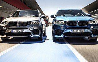 BMW X5 M y X6 M. Deportividad a otra escala