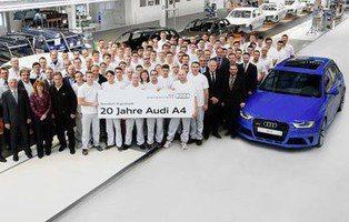 Audi A4. Celebra sus 20 años de historia