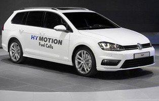 Volkswagen Golf Variant HyMotion. Impulsado por hidrógeno