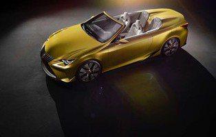 Lexus LF-C2 Concept. El futuro cabrio de la marca