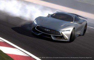 Infiniti Concept Vision Gran Turismo. Una joya para un videojuego