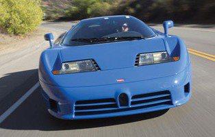 Bugatti EB110 GT. Subastan un precursor del Bugatti Veyron