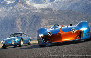 Alpine Vision Gran Turismo. Una obra para videojuego