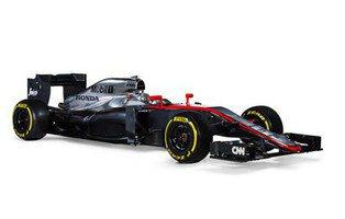 Éste es el coche de Fernando Alonso