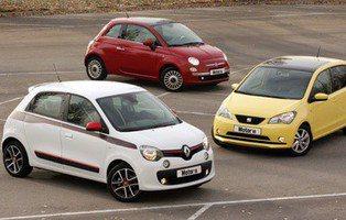 Comparativa Fiat 500, Renault Twingo y Seat Mii. Bienvenido al infierno urbano