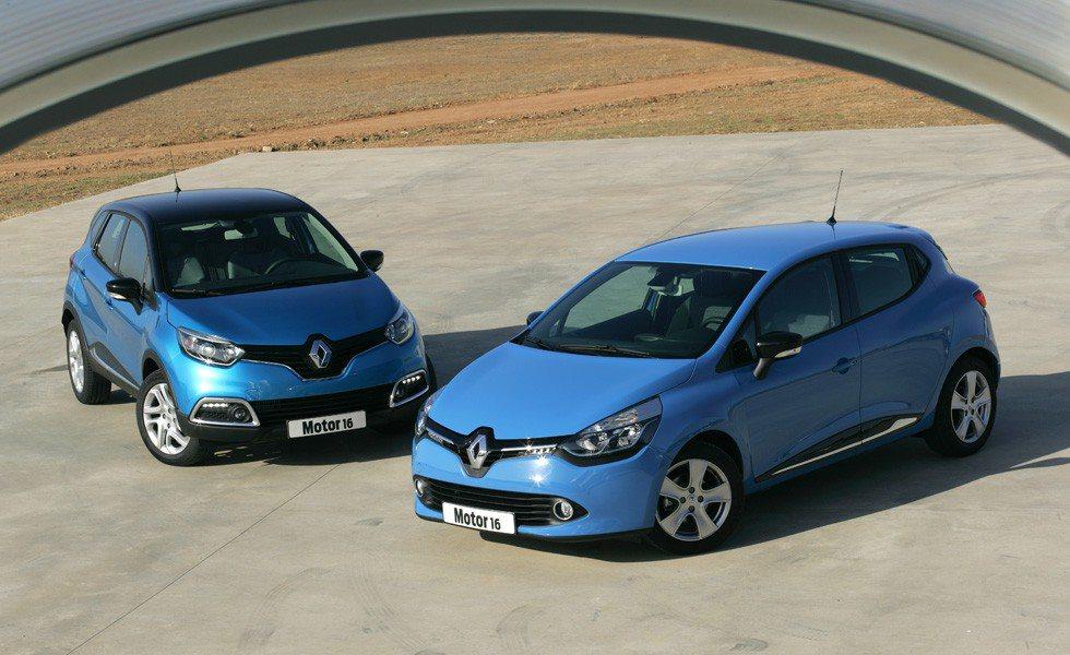 Comparativa Renault Clio dCi 90 Expression-Renault Captur dCi 90 Intens