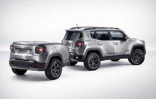 Jeep Renegade Hard Steel Concept. Estrena un remolque a juego
