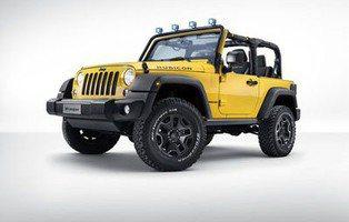 Jeep Wrangler Rubicon Rocks Star. Con nuevos accesorios Mopar