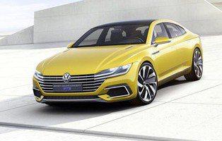 Volkswagen Sport Coupé Concept GTE. El Super-Passat y además híbrido