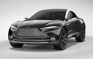 Aston Martin DBX Concept. El primer 4x4 de Aston Martin