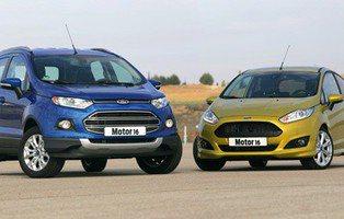 Comparativa Ford Fiesta 1.0 EcoBoost 125 CV y Ford EcoSport 1.0 EcoBoost 125 CV. Diferente espíritu, un mismo corazón