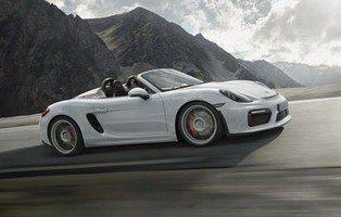 Porsche Boxster Spyder. Para amantes de la conducción