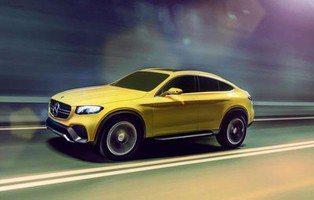 Mercedes GLC Coupé. Un rival para el BMW X4