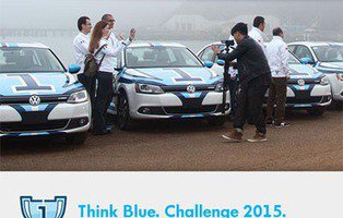 Con Motor16 a la VW Think Blue Challenge 2015