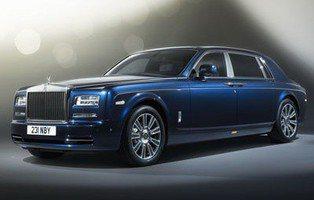 Rolls Royce Phantom Limelight. Sólo se fabricarán 25 exclusivas unidades