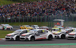 Citroën y Honda se reparten las victorias
