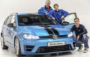 Volkswagen Golf Variant Biturbo Edition. Con el propulsor de los Passat TDI Biturbo