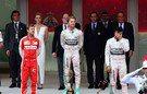 La estrella de Mercedes se clava en el pecho de Hamilton