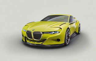 BMW 3.0 CSL Hommage Concept. Espectacular homenaje al pasado
