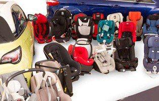 El 37% de las sillas infantiles han suspendido el Test Europeo de Seguridad