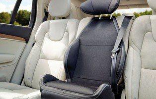 El asiento infantil integrado de Volvo cumple 25 años