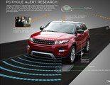 Sistema de detección de baches de Jaguar-Land Rover