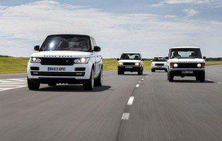 Range Rover. 45 años de lujo 4x4