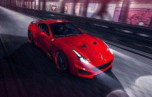 Novitec Rosso Ferrari California T. Más caballos e imagen poderosa