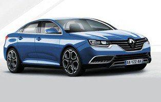 Renault Laguna. Su nombre definitivo será Talisman