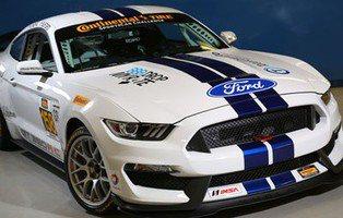 Mustang Shelby 350 R-C. El nuevo Mustang se viste de competición