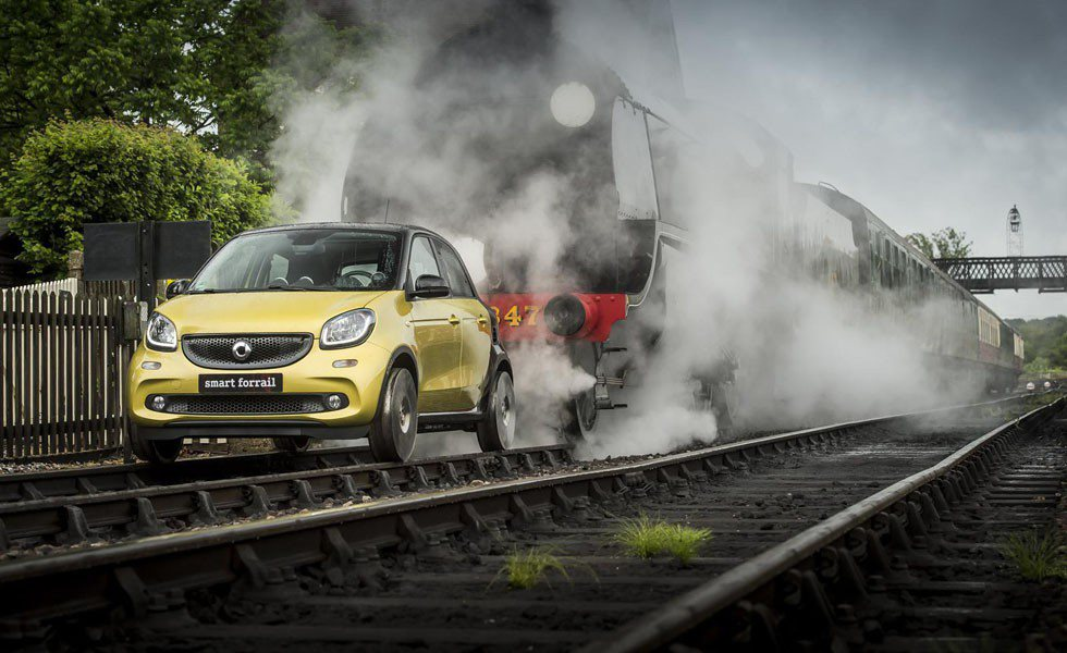 Smart ForRail Forfour
