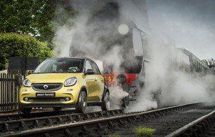 Smart ForRail Forfour. Un tren de 4 plazas