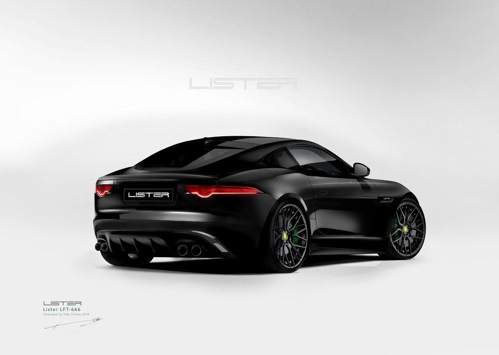 T<strong>omarán el nombre de Lister LFT-666 e incorporarán los exclusivos paneles del cuerpo de fibra de carbono, que le aportarán más aerodinámica.</strong>