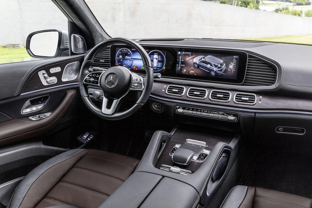 Interior del nuevo Mercedes GLE