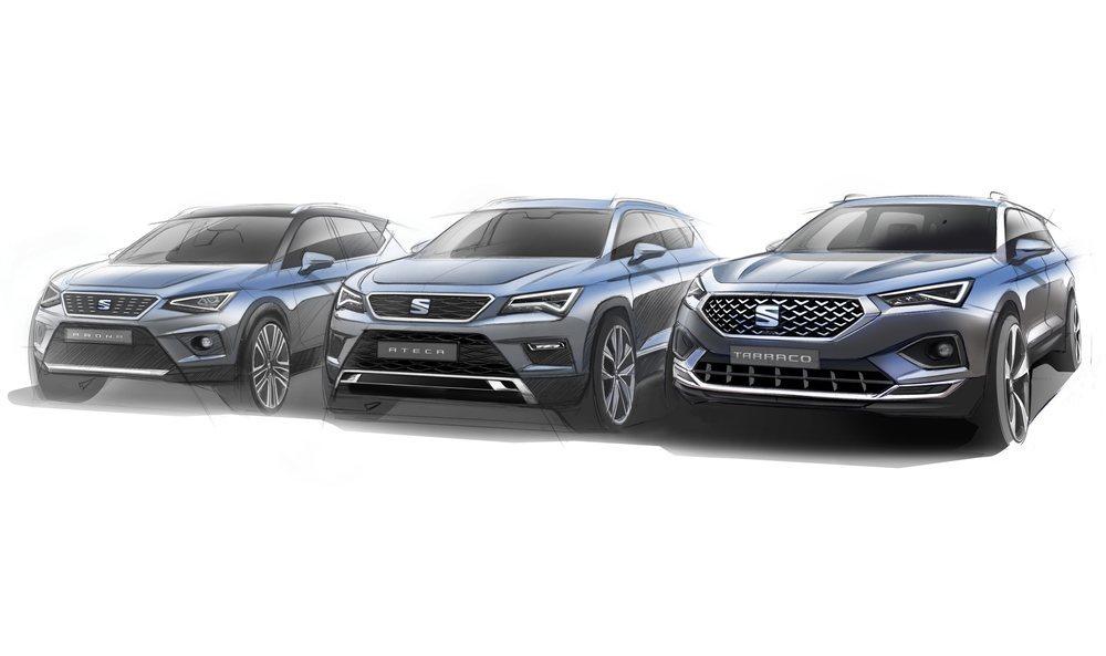 Con el Tarraco Seat ya ofrece una gama con tres SUV.
