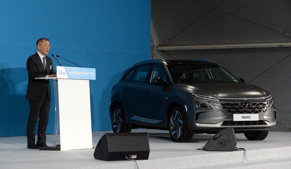 El vicepresidente ejecutivo de Hyundai, Euisun Chung
