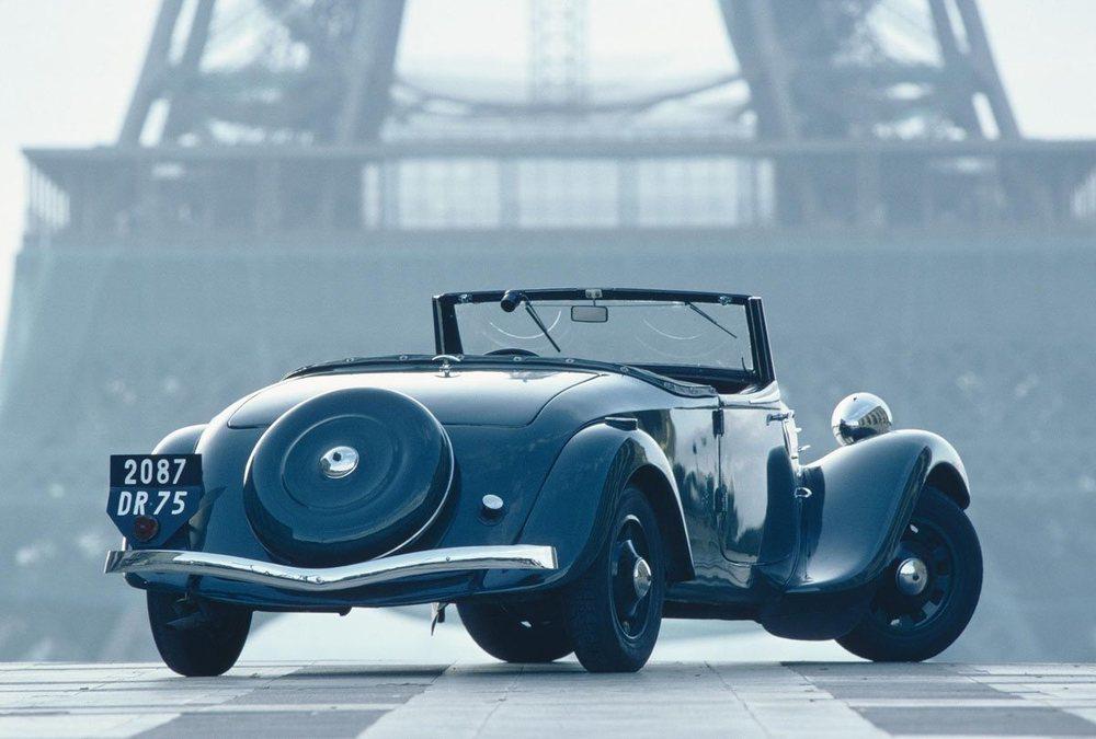 El Traction Avant, uno de los primeros modelos de la marca, se expondrá en París.