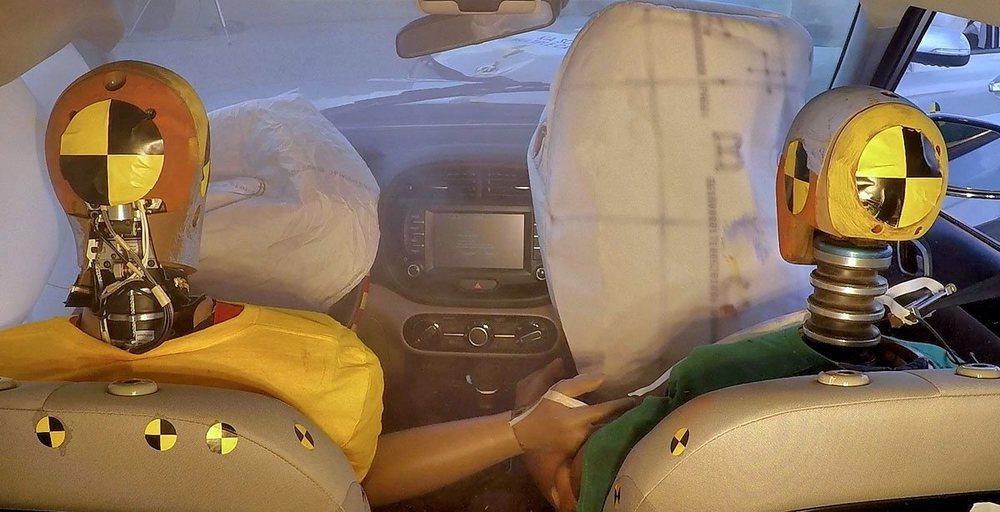 Hyundai desarrolla el primer sistema de airbags de colisión múltiple del mundo