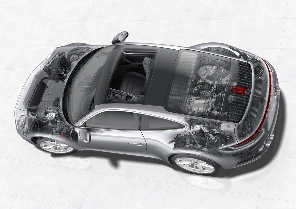 Ahora se emplea muchos más materiales ligeros que en la generación anterior y su motor bóxer biturbo se ha optimizado para hacerlos más potentes. Hay versiones con propulsión posterior y también los famosos Carrera 4.