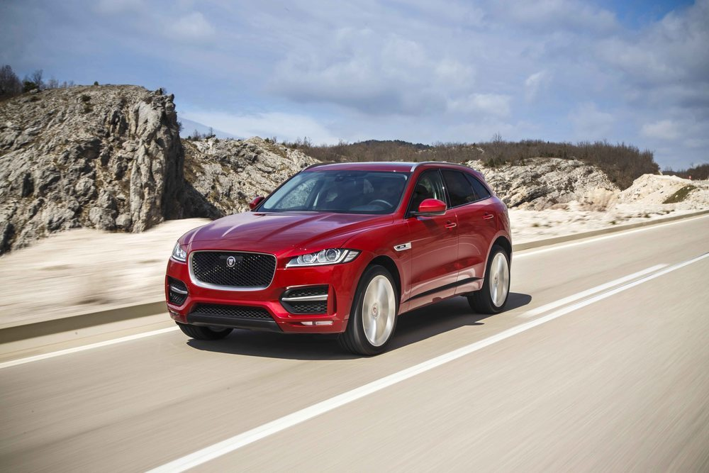 F-Pace Prestige Limited Edition