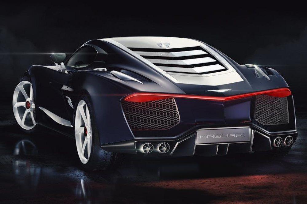 Dos compañías están en disputa por el nombre de Hispano Suiza y una de ellas mostrará en Ginebra este Maguari HS1 GTC, un deportivo cuyo motor tiene dos compresores eléctricos y 1.085 CV de potencia.