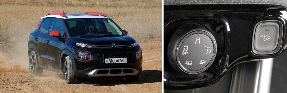 El Grip Control contempla cinco modos de conducción y se combina con un control de descensos.