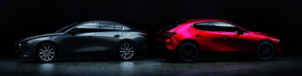 Sedán o hatchback... la pureza de líneas se refleja en las dos carrocerías.