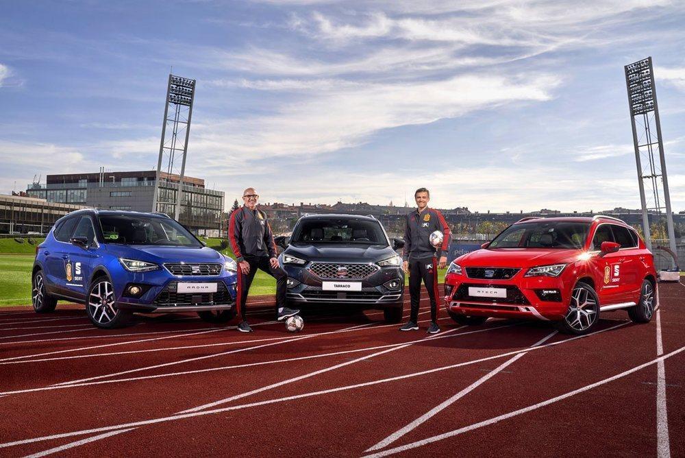 La gama SUV de Seat se viste con los colores de la Real Federación de Fútbol.