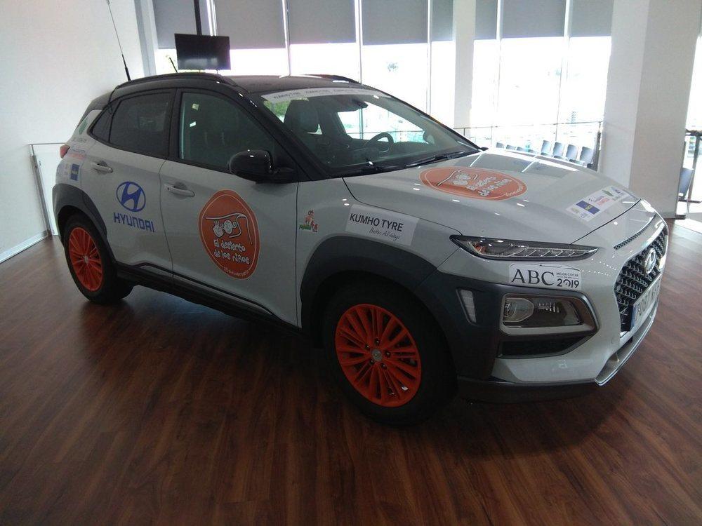El Hyundai Kona ya está preparado para liderar la caravana.